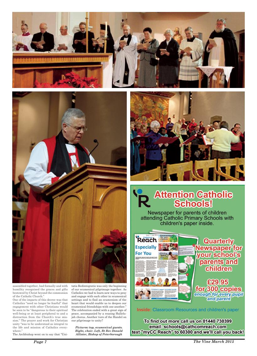 Mar 2015 edition of the The Vine - Northampton