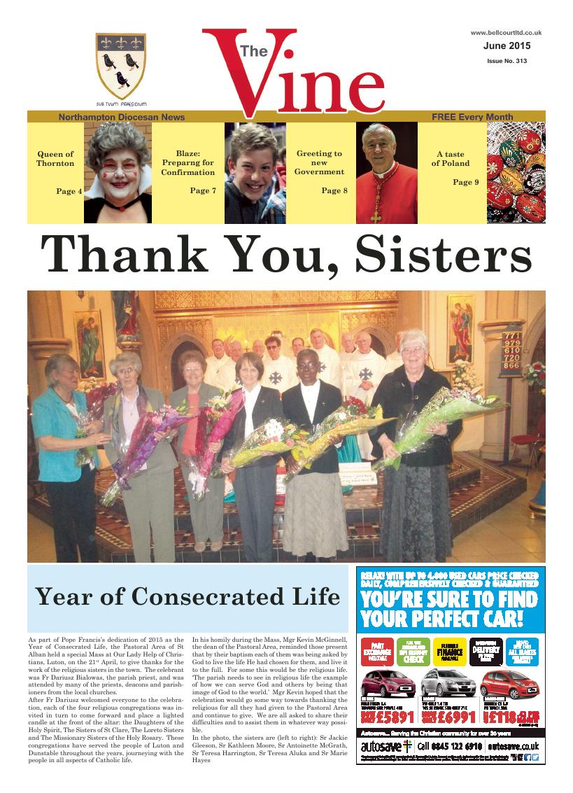 Jun 2015 edition of the The Vine - Northampton