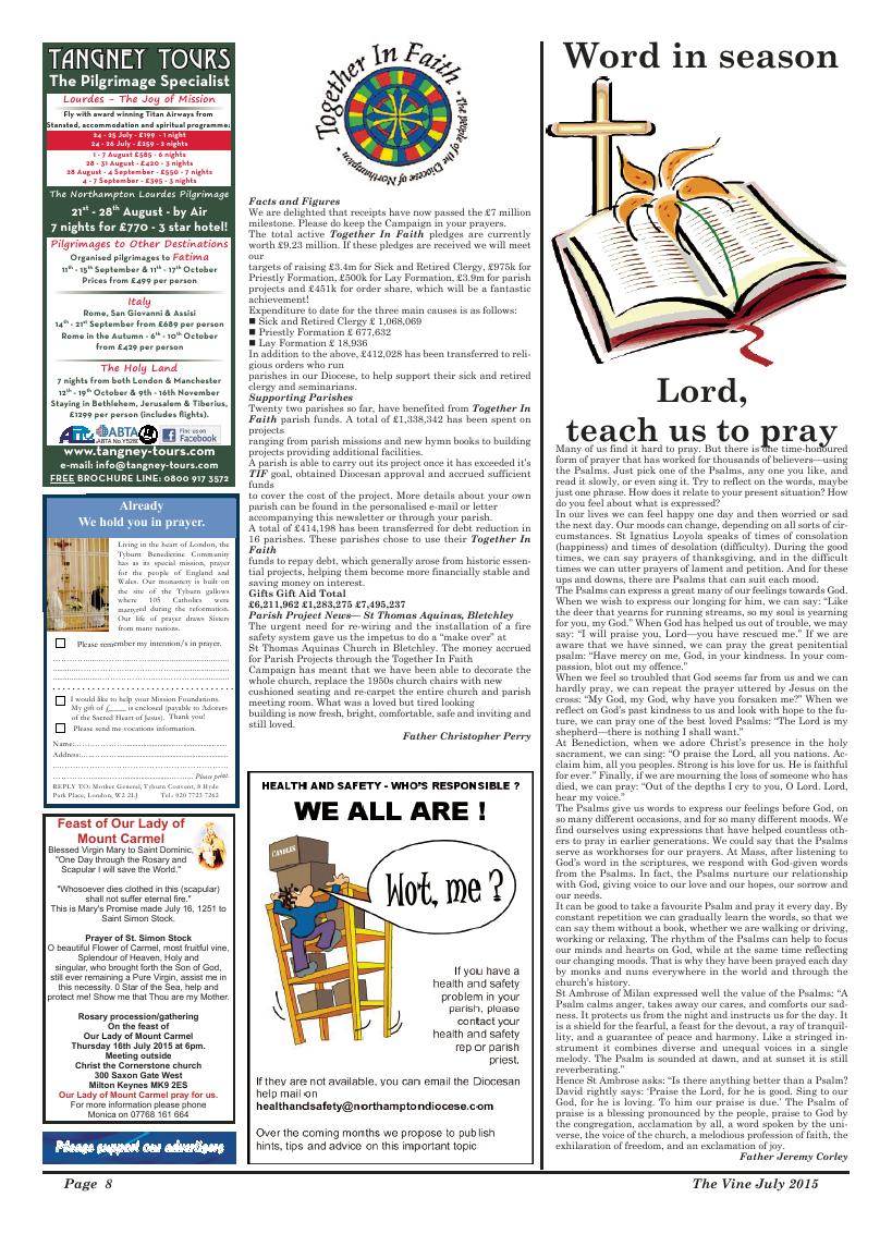 Jul 2015 edition of the The Vine - Northampton