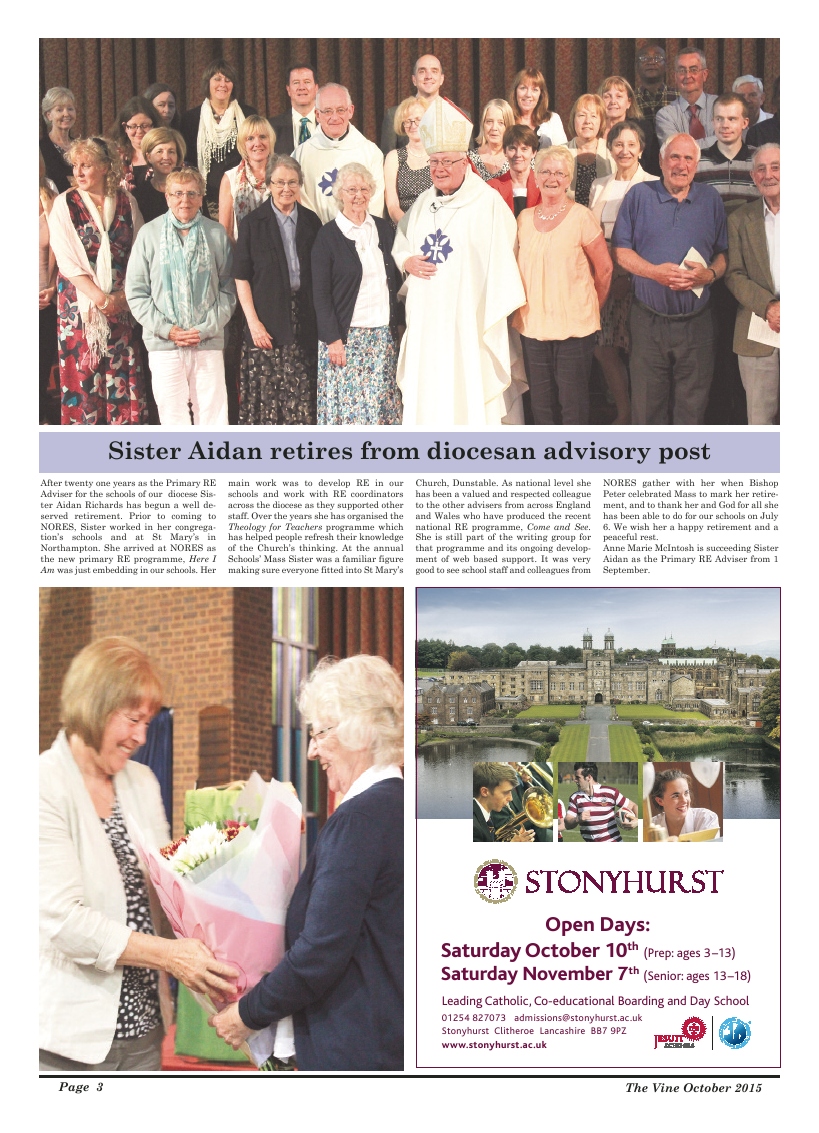Oct 2015 edition of the The Vine - Northampton