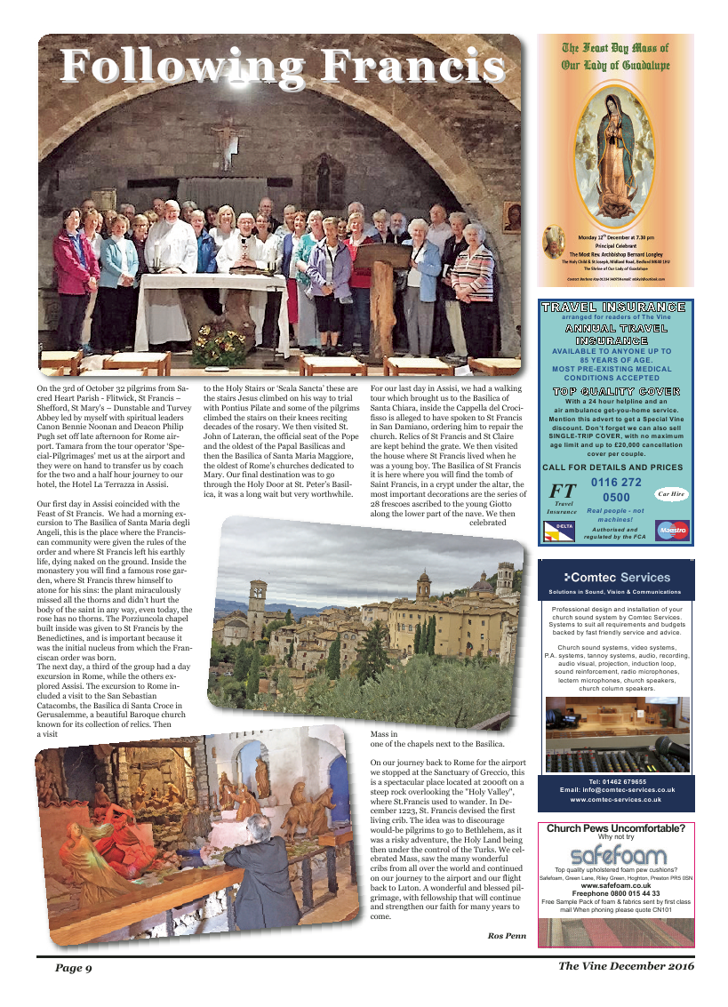 Dec 2016 edition of the The Vine - Northampton - Page