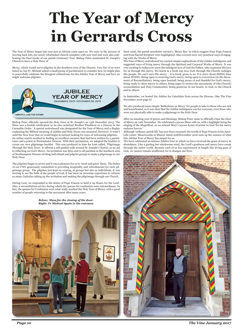 Jan 2017 edition of the The Vine - Northampton - Page