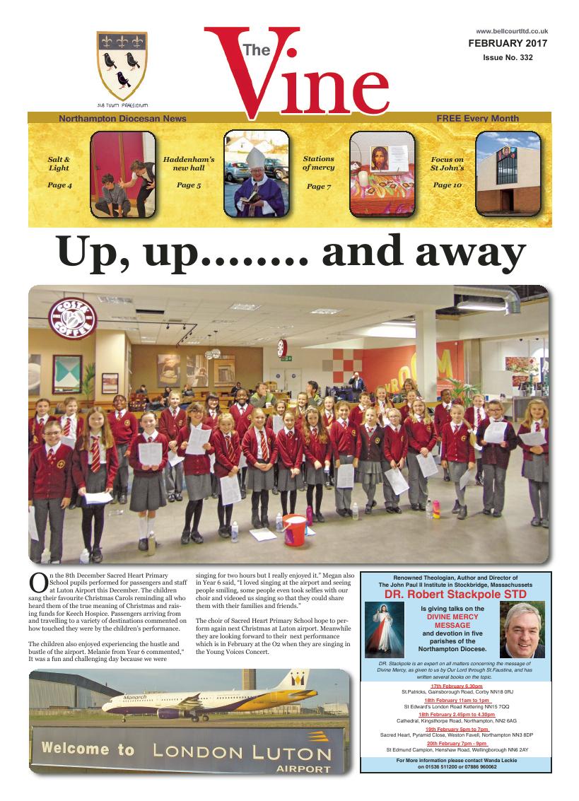 Feb 2017 edition of the The Vine - Northampton - Page