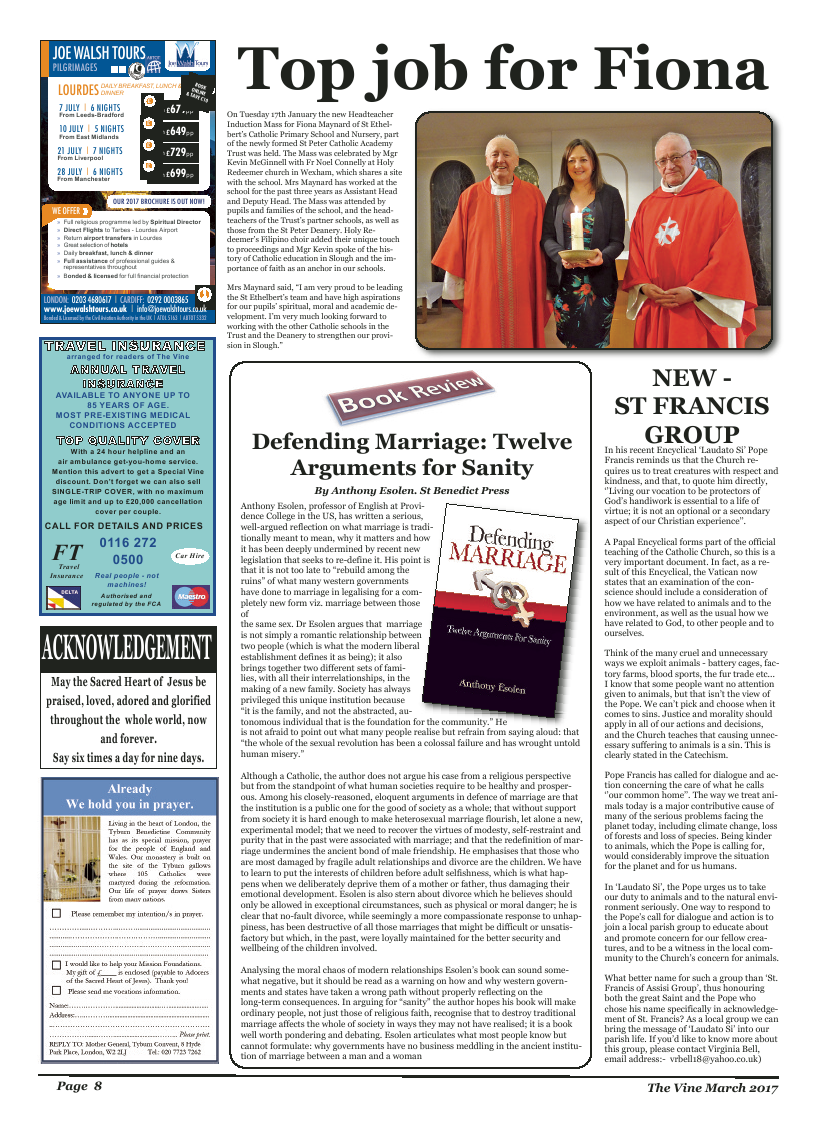Mar 2017 edition of the The Vine - Northampton - Page
