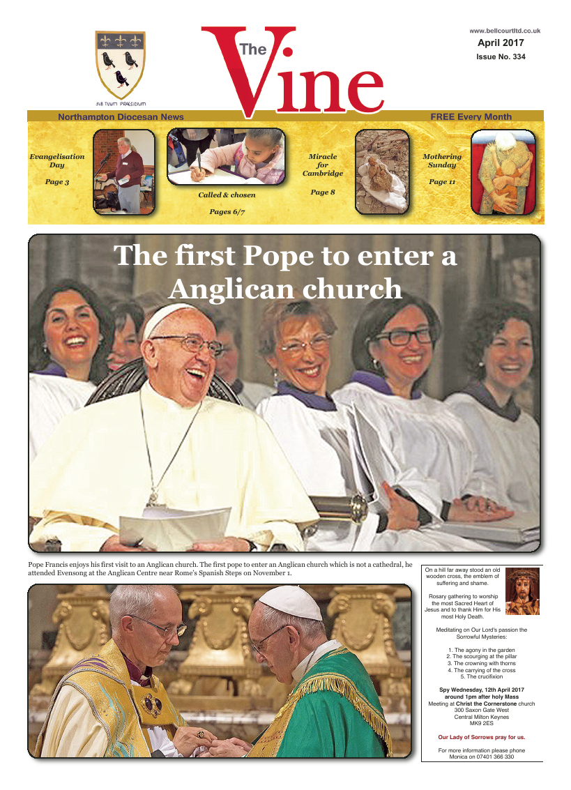 Apr 2017 edition of the The Vine - Northampton - Page