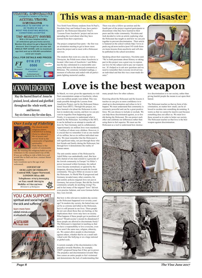 Jun 2017 edition of the The Vine - Northampton - Page