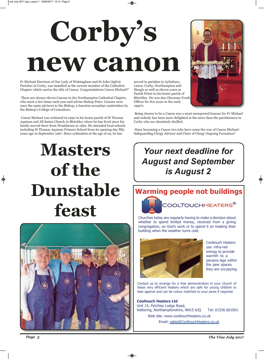 Jul 2017 edition of the The Vine - Northampton - Page
