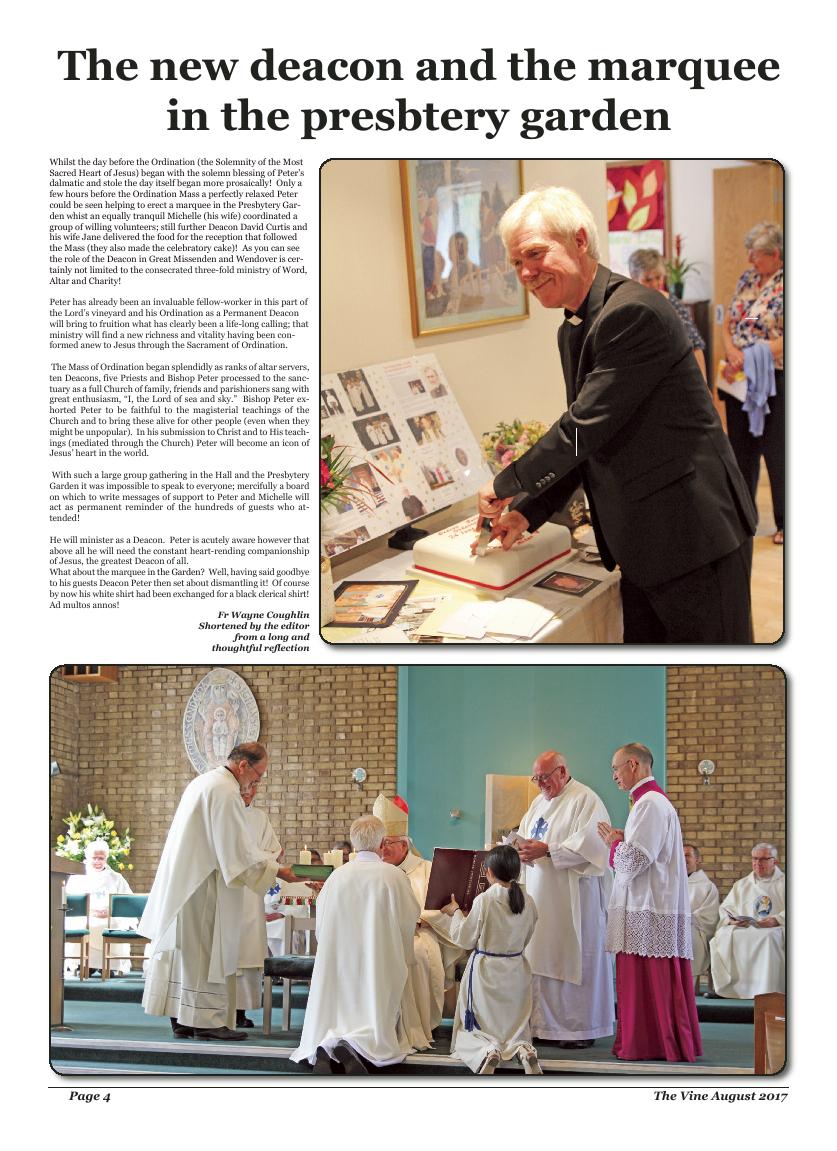 Aug 2017 edition of the The Vine - Northampton - Page