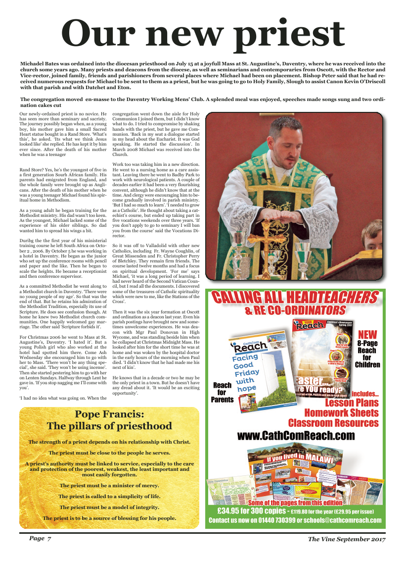 Sept 2017 edition of the The Vine - Northampton - Page