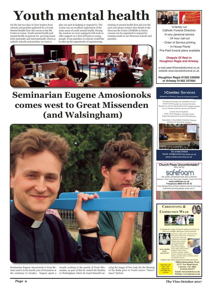 Oct 2017 edition of the The Vine - Northampton - Page