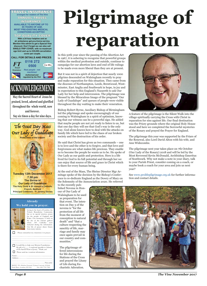 Nov 2017 edition of the The Vine - Northampton - Page