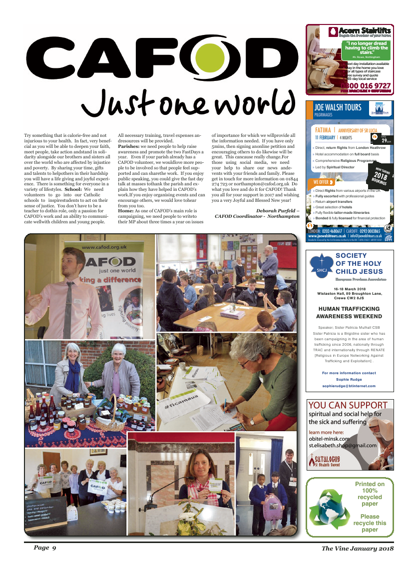 Jan 2018 edition of the The Vine - Northampton - Page