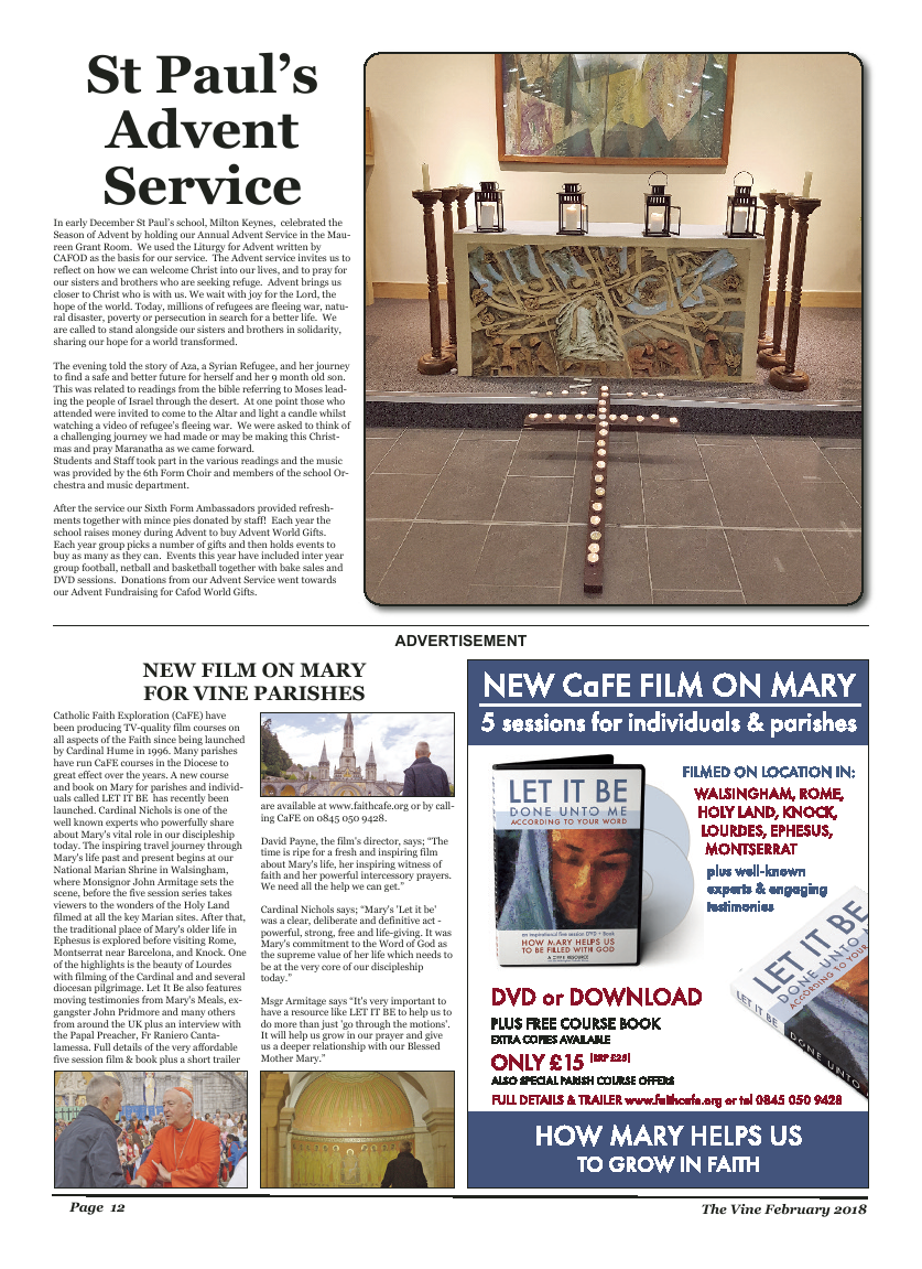 Feb 2018 edition of the The Vine - Northampton - Page