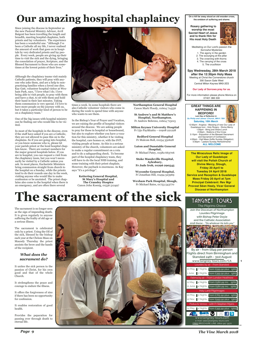 Mar 2018 edition of the The Vine - Northampton - Page