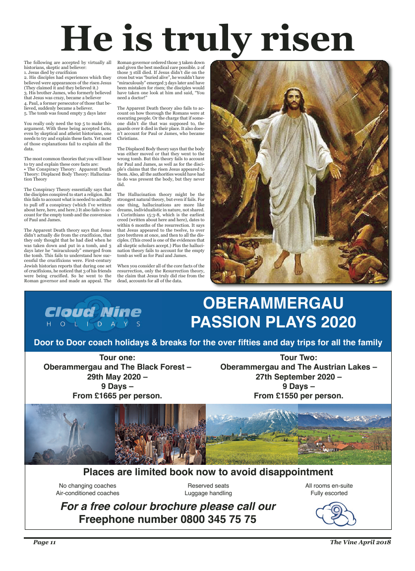 Apr 2018 edition of the The Vine - Northampton - Page