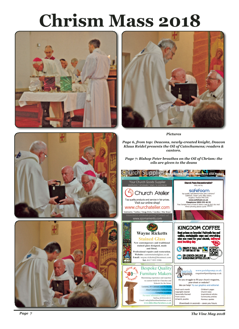 May 2018 edition of the The Vine - Northampton - Page