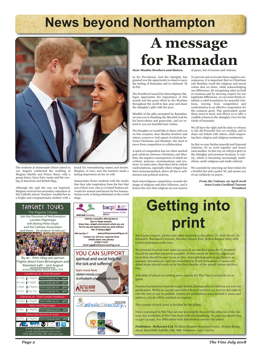 Jul 2018 edition of the The Vine - Northampton - Page