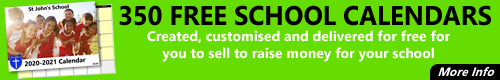CathCom: FREE SCHOOL CALENDAR Created, customised and delivered for free for you to sell to raise money for your school.